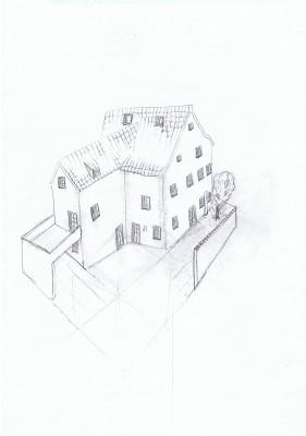 10_Christians Skizze des Hauses